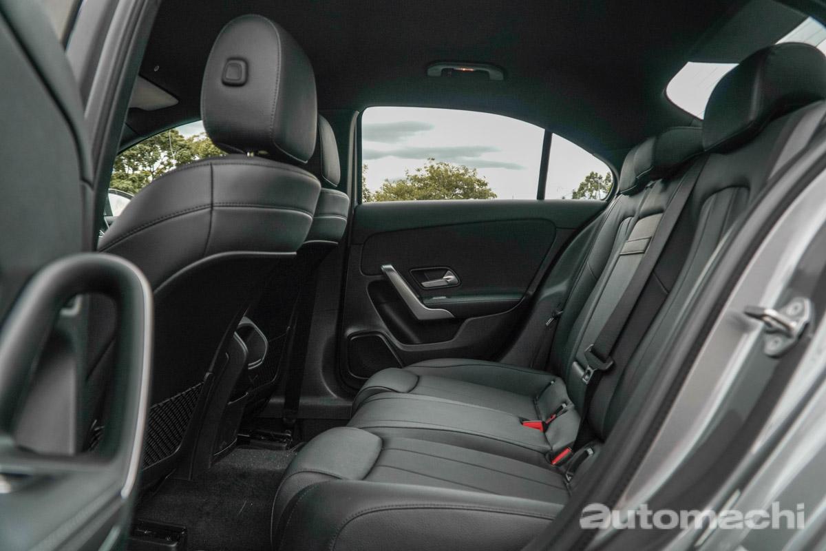 Mercedes-Benz A200 Sedan ,活泼的奔驰房车