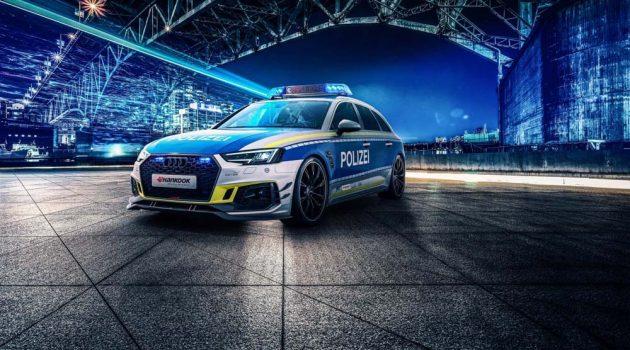 Audi RS4 Avant ABT ,532 Hp的实力派警车
