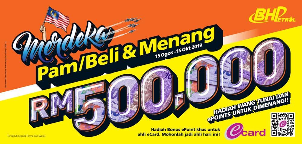 BHP Merdeka Pam Beli & Menang 活动圆满结束,奖金高达 RM500,000