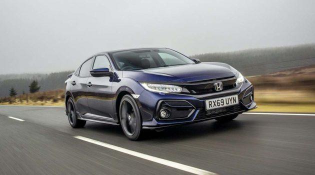 Honda Civic Sport Line 正式登场,采用 FK8 外观设计