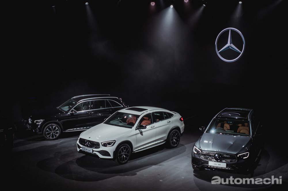 小改款 Mercedes-Benz GLC 登陆我国,RM 299,888 起跳