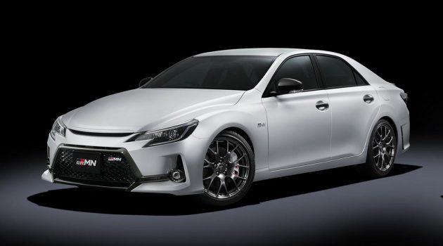 Toyota Mark-X 正式停产,豪华后驱轿车正式谢幕