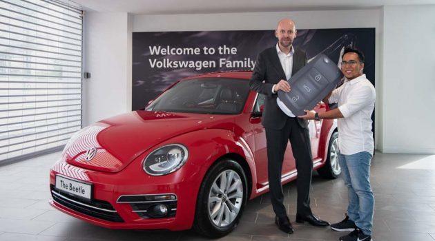 Volkswagen Win The Icon 得奖者出炉,赢走一辆崭新的  Beetle