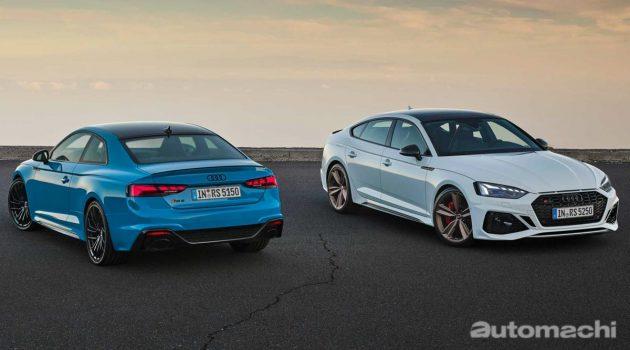 2020 Audi RS5 Sportback 与 Coupe 小改款登场