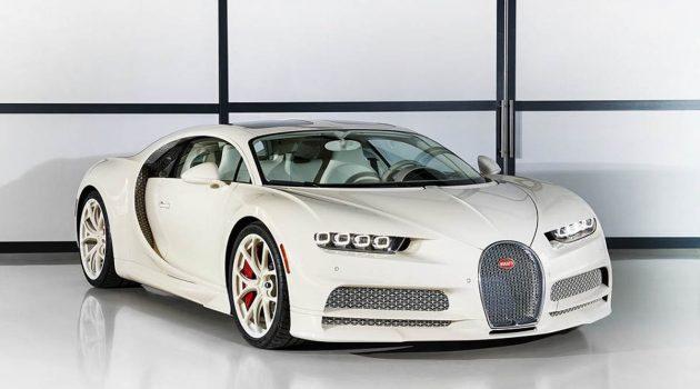 仅此一台, Bugatti Chiron Hermès 版奢华发表