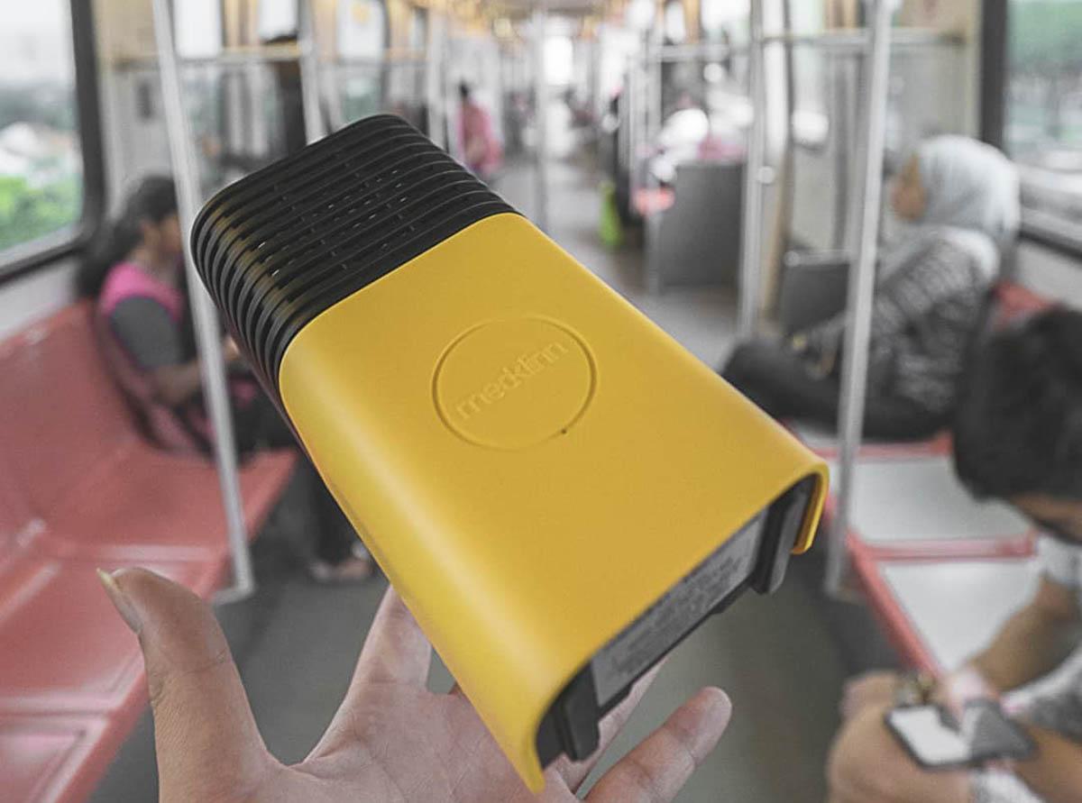Medklinn Versa 系列,便于随身携带的空气净化器