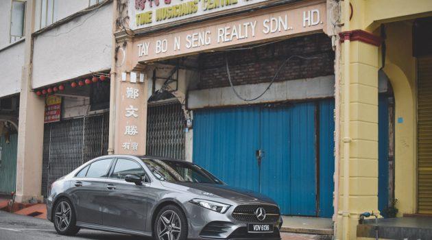 图库: Mercedes-Benz A250 Sedan AMG Line ,售价RM 267,888