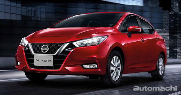 2020值得期待新车: Nissan Almera 大改款