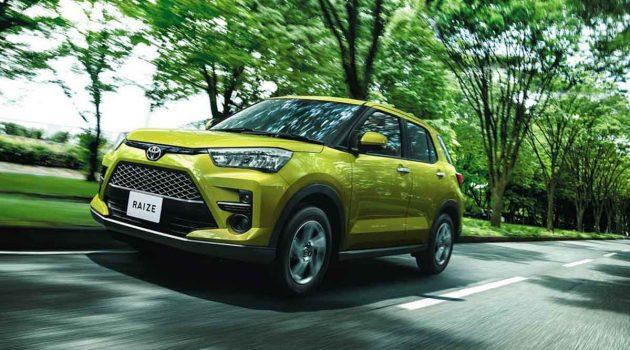 未来 Perodua SUV , Toyota Raize 面市首月订单超过3万张