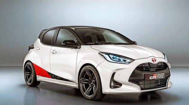 Toyota Yaris GRMN 将会有300 Hp的马力