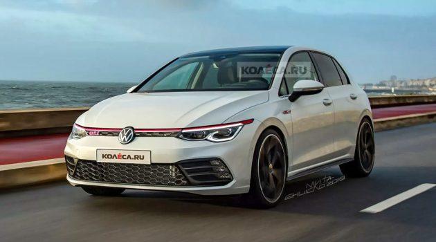 最新钢炮王, 2020 Volkswagen Golf GTI 长这样如何