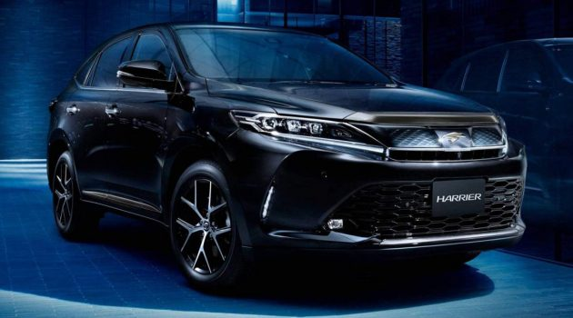Toyota Harrier 大改款明年8月正式发表
