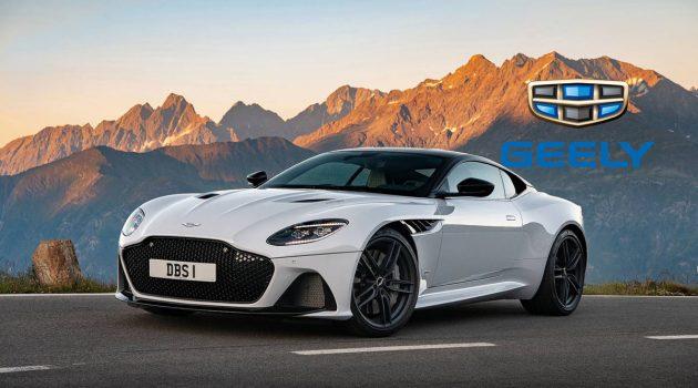 Geely 正在商谈收购 Aston Martin