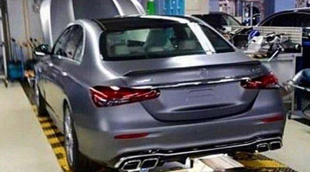 造型呼之欲出,小改款 Mercedes-Benz E-Class 真身曝光
