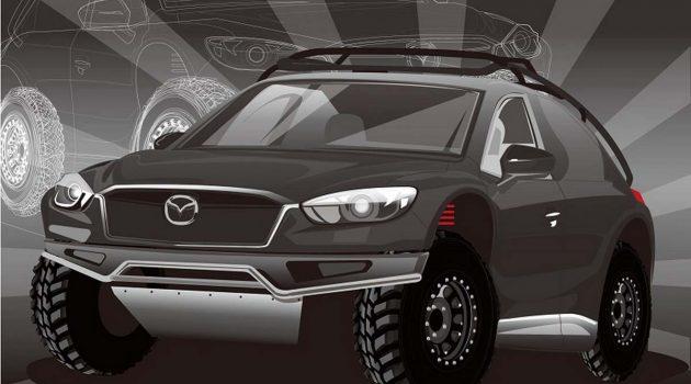 越野版 Mazda CX-5 将在东京国际改装车展上亮相