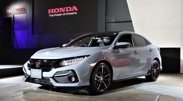 小改款日规 Honda Civic 登场,导入最新家族设计