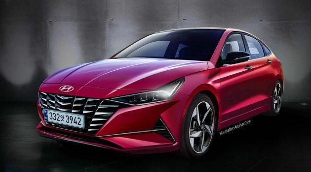 新一代 Hyundai Elantra 细节曝光,导入最新家族设计/搭载1.2L 涡轮增压引擎
