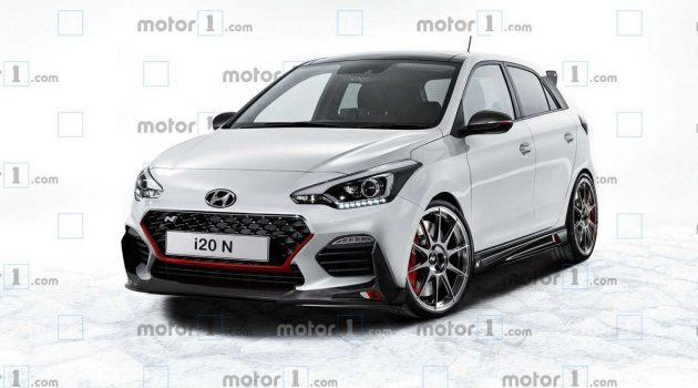 Hyundai i20N 资讯以及假想图曝光,最大马力200 Hp