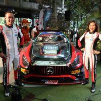 Leona Chin & Tengku Djan Ley 联手参加 GT 世界挑战赛亚洲赛