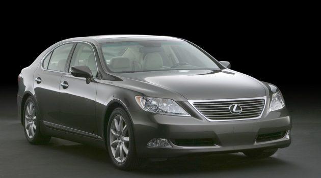 最超值二手车: Lexus LS460  顶级豪华房车