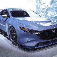 Mazda 3 TCR 实车鉴赏,350Hp+450Nm