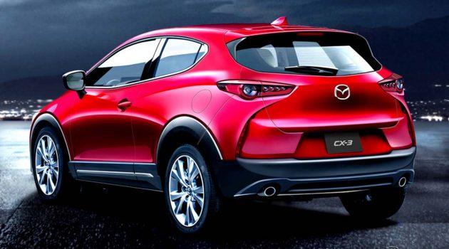 Mazda CX-3 或将采用全新设计再战 Crossover 市场