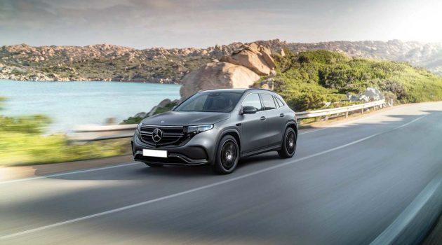 Mercedes-Benz EQA 假想图释出,导入 EQ 家族设计语言