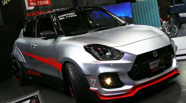 Suzuki Swift Katana Edition 霸气现身东京改装车展