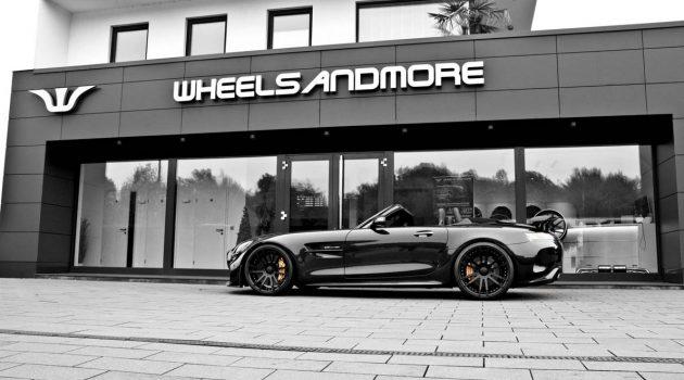 马力 Up,Wheelsandmore 将 Mercedes-AMG GT Roadster 升级至 800 Hp