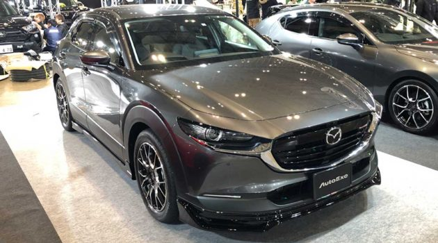 都会型车, Mazda CX-30 AutoExe 空力套件登场