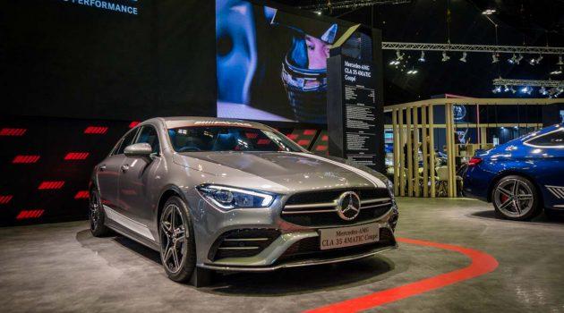 2020 新加坡车展:Mercedes-AMG CLA35 & CLA200 实车鉴赏