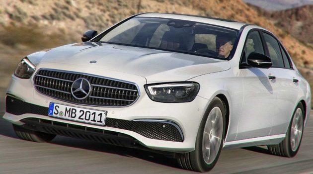 全然曝光,小改款 Mercedes-Benz E-Class 前脸露出