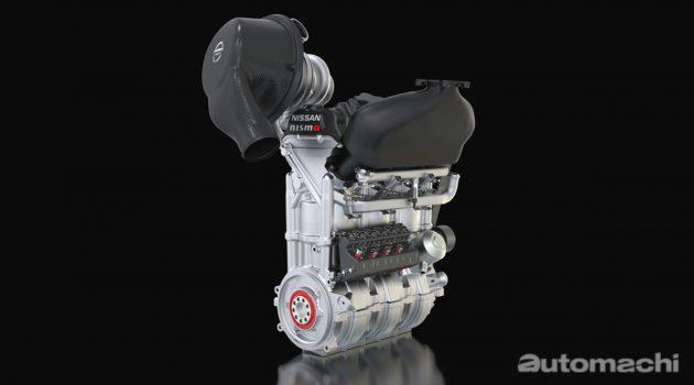 小个头大马力,400 hp 的 Nissan DIG-T-R 引擎