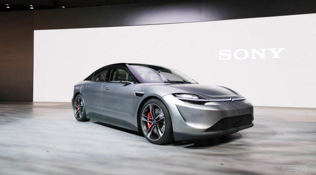 跨界造车, Sony 惊喜发表纯电概念车