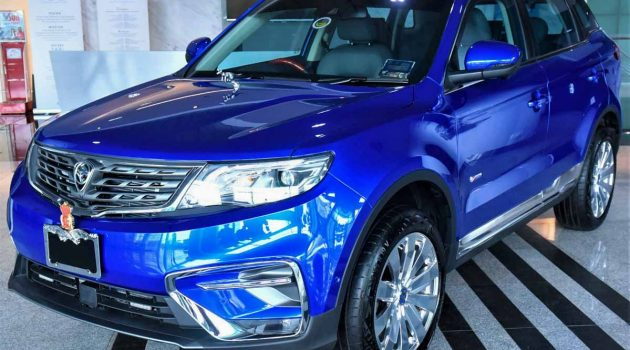 雪州苏丹王弟订购,客制版 Proton X70 正式交车
