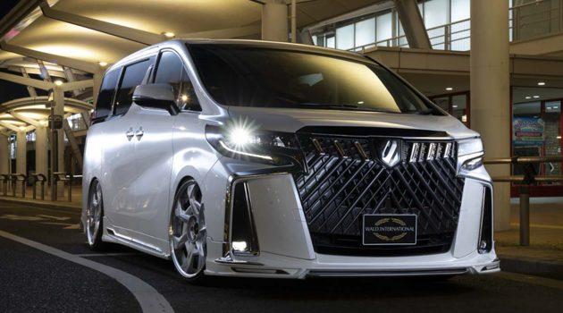 Toyota Alphard WALD 最新套件,超霸气水箱护罩