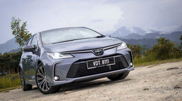 Toyota Corolla 1.8G ,脱胎换骨的丰田