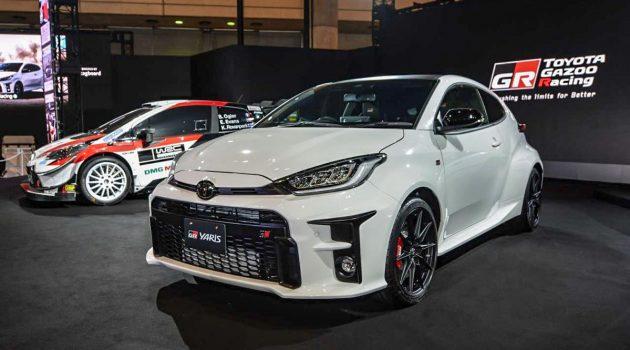 发表甫2周, Toyota GR Yaris 接获2,000订单