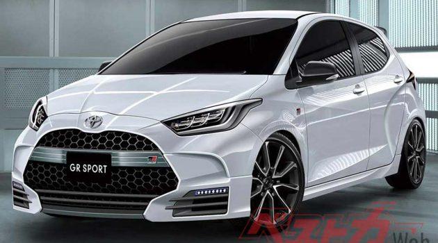 Swift Sport 对手, Toyota Yaris GR Sport 8月登场
