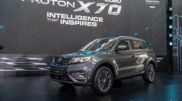 2020 Proton X70 CKD 正式发表,RM 94,800 起跳