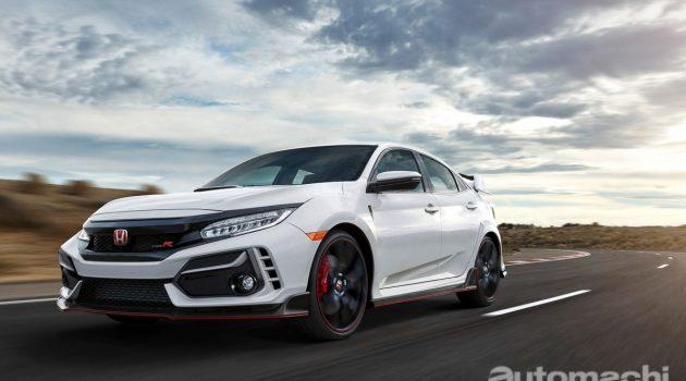 Honda 表示 Type R 将是 Civic 专属