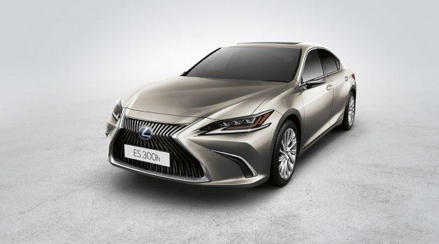 2020 Lexus ES 提供电子后视镜为选购配件