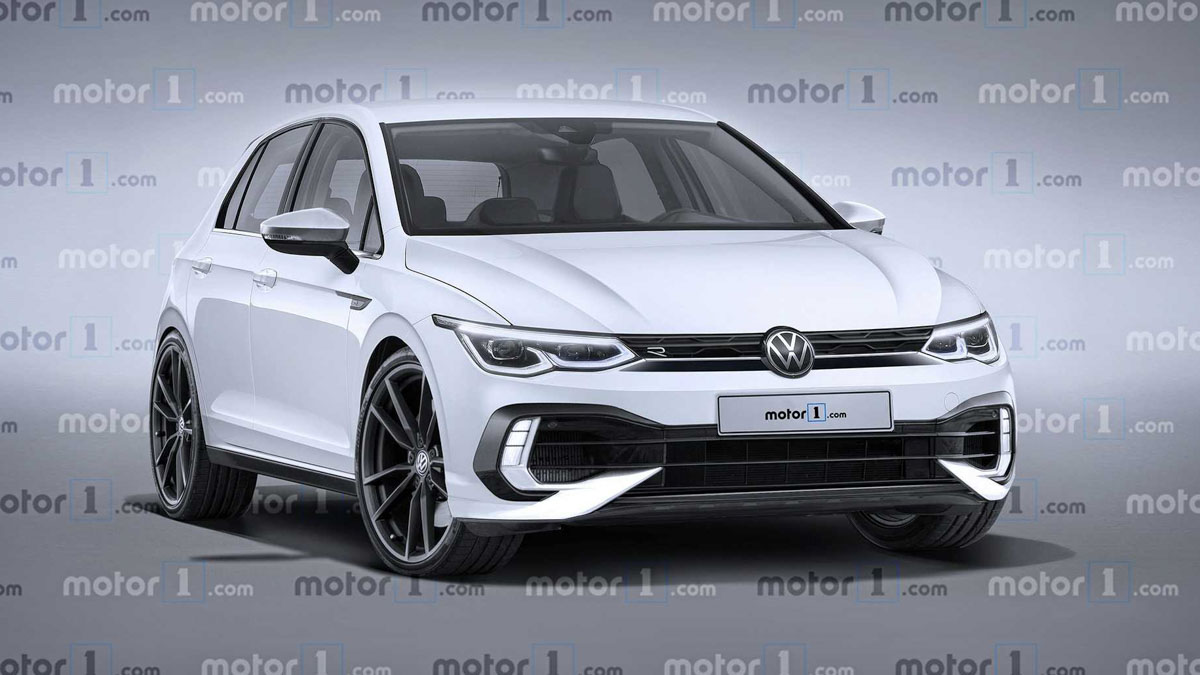 2021 Volkswagen Golf R 今年登场,最大马力或达400 Hp