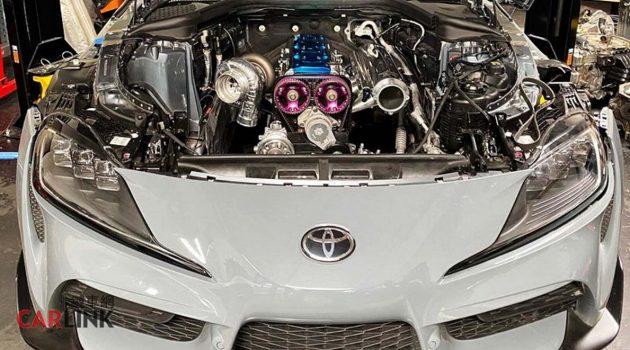 Toyota Supra A90 换上2JZ-GTE 经典引擎,最大马力3000Hp