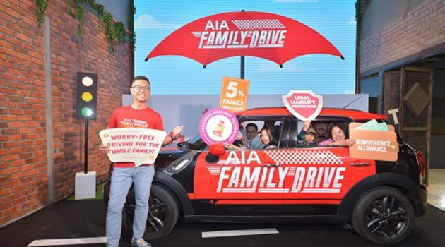 AIA General Berhad 推出 AIA Family Drive 汽车保险计划