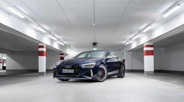 由 ABT 操刀改造,Audi RS7 除了外观更霸气独特,其最大马力更是达到690 Hp