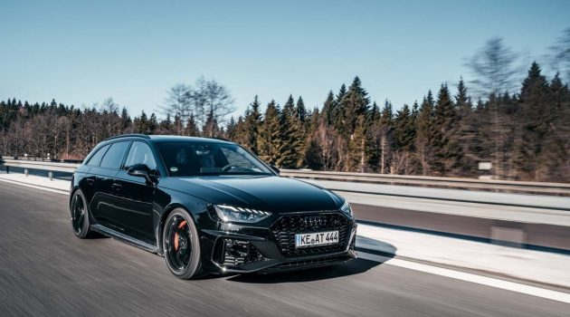 ABT 出手! 2020 Audi RS4 最大马力达 523 Hp