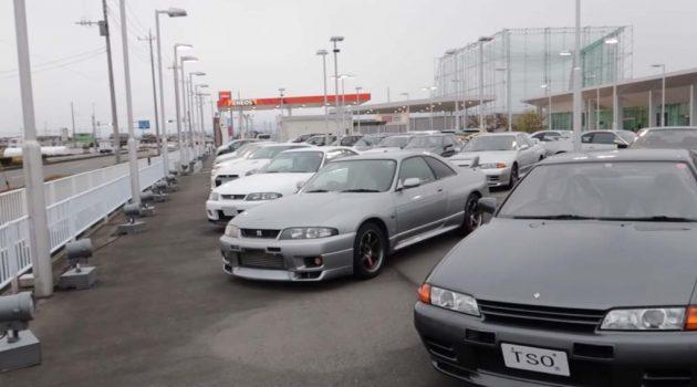 Nissan GT-R 迷们的天堂!车况超好的 GT-R 都在这里