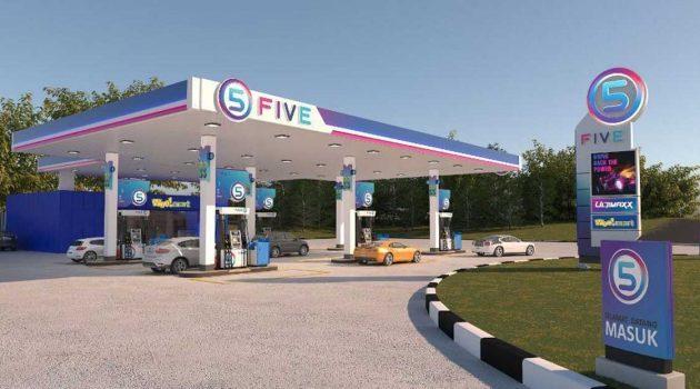 FIVE 新油站品牌将于3月份正式在我国市场投运