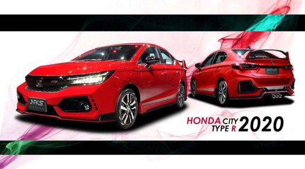 City Type R? Honda City NKS 泰国空力套件霸气登场